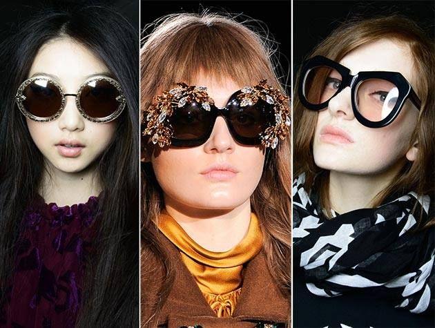 نظارات شمسية نسائية 2014 للمحجبات Trending Sunglasses Eyewear Trends Sunglasses