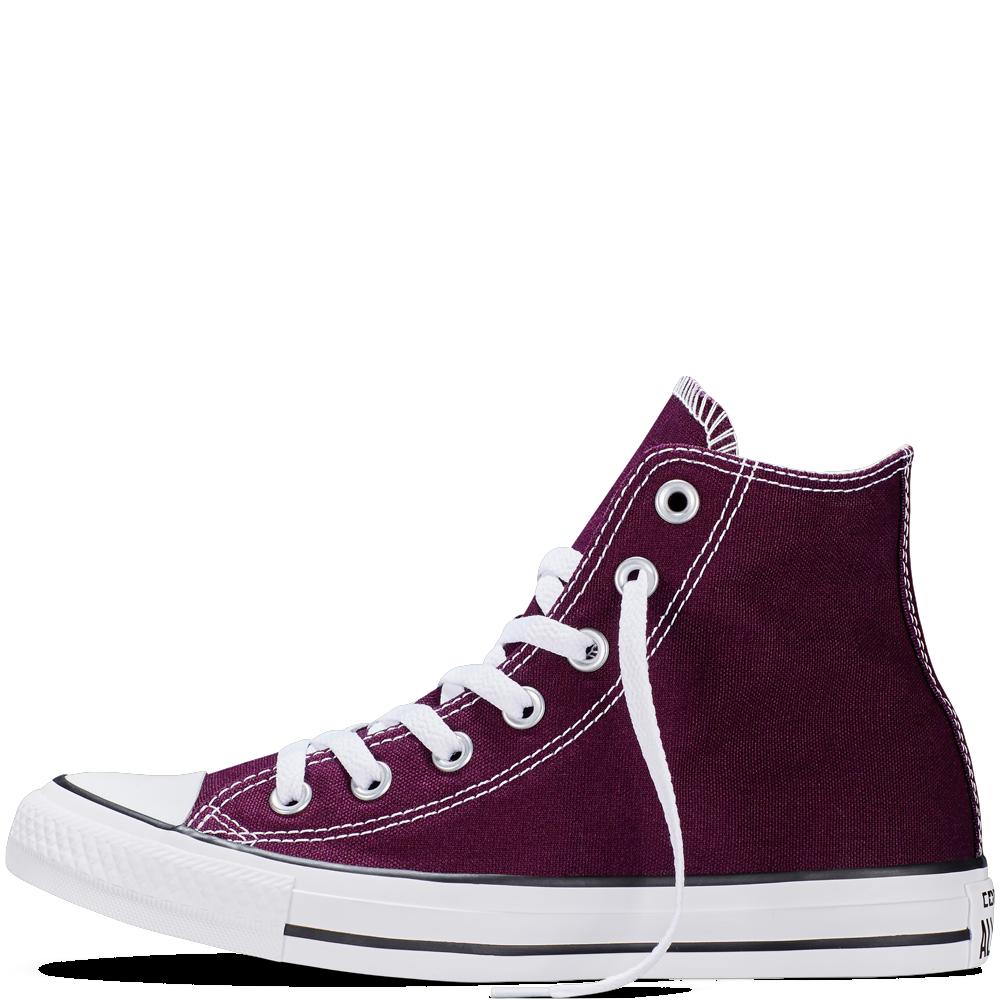 f1d604b07003 Converse - CT All Star Fresh Hi Canvas Sneakers (Big Kid) - Black Cherry