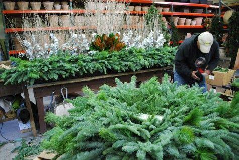 Holiday Decor Deborah Silver Detroit Garden Works Branch Studio Xmas Decorations Garden Works Jingle All The Way