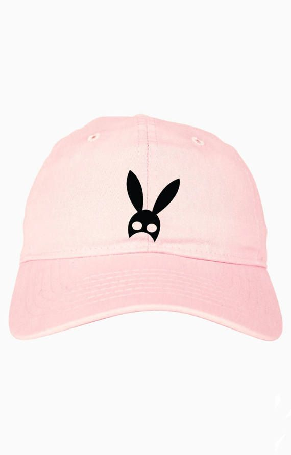 41b2e76d Dangerous Woman Bunny Dad Hat Ariana Grande Tour by CheekyApparel ...