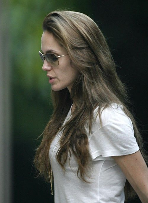 Pin By Miley Gallagher Stardust On Gorgeous Hairstyles Angelina Jolie Hair Hair Styles Angelina Joile