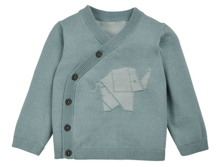 9bec22588e0f LUPILU® PURE COLLECTION Baby Jungen Strickjacke -pullover - Lidl ...