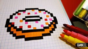 Epingle Par Cloclo Sur Dessin En Pixel Pixel Art Pixel Art Nourriture Dessin Pixel