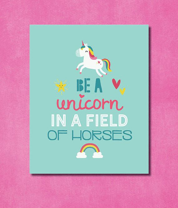 photograph relating to Be a Unicorn in a Field of Horses Free Printable known as Be a Unicorn in just a business of Horses 8x10 printable pdf record