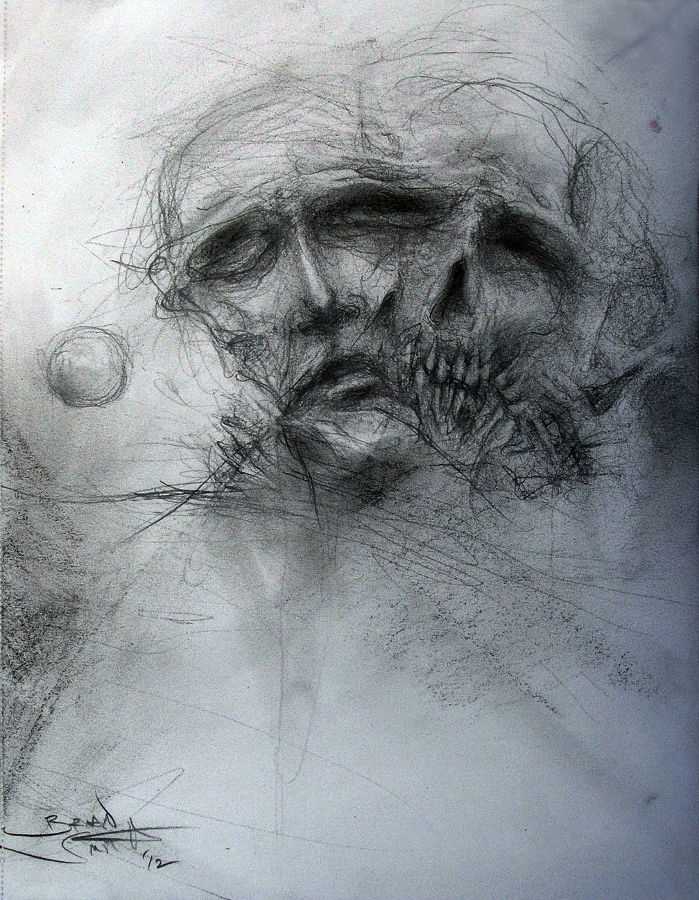 Dark art drawings dark art pencil drawings pencil charcoal on paper
