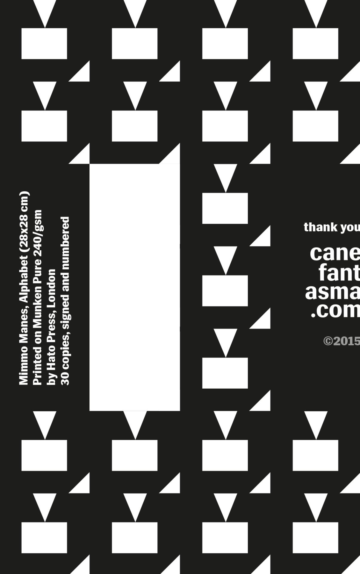 Canefantasma, Certificate of Authenticity