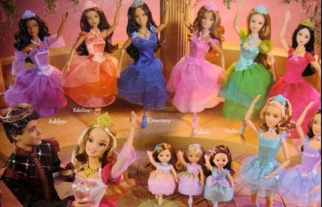 2006 Princess Genevieve Barbie My Size in the 12 Dancing Princesses NRFB