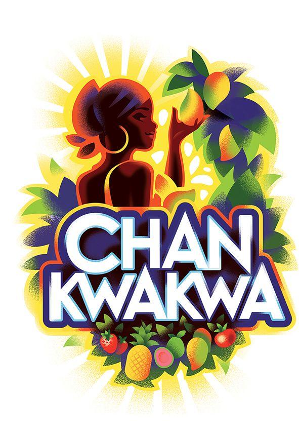 Chankwakwa identity by Mads Berg, via Behance