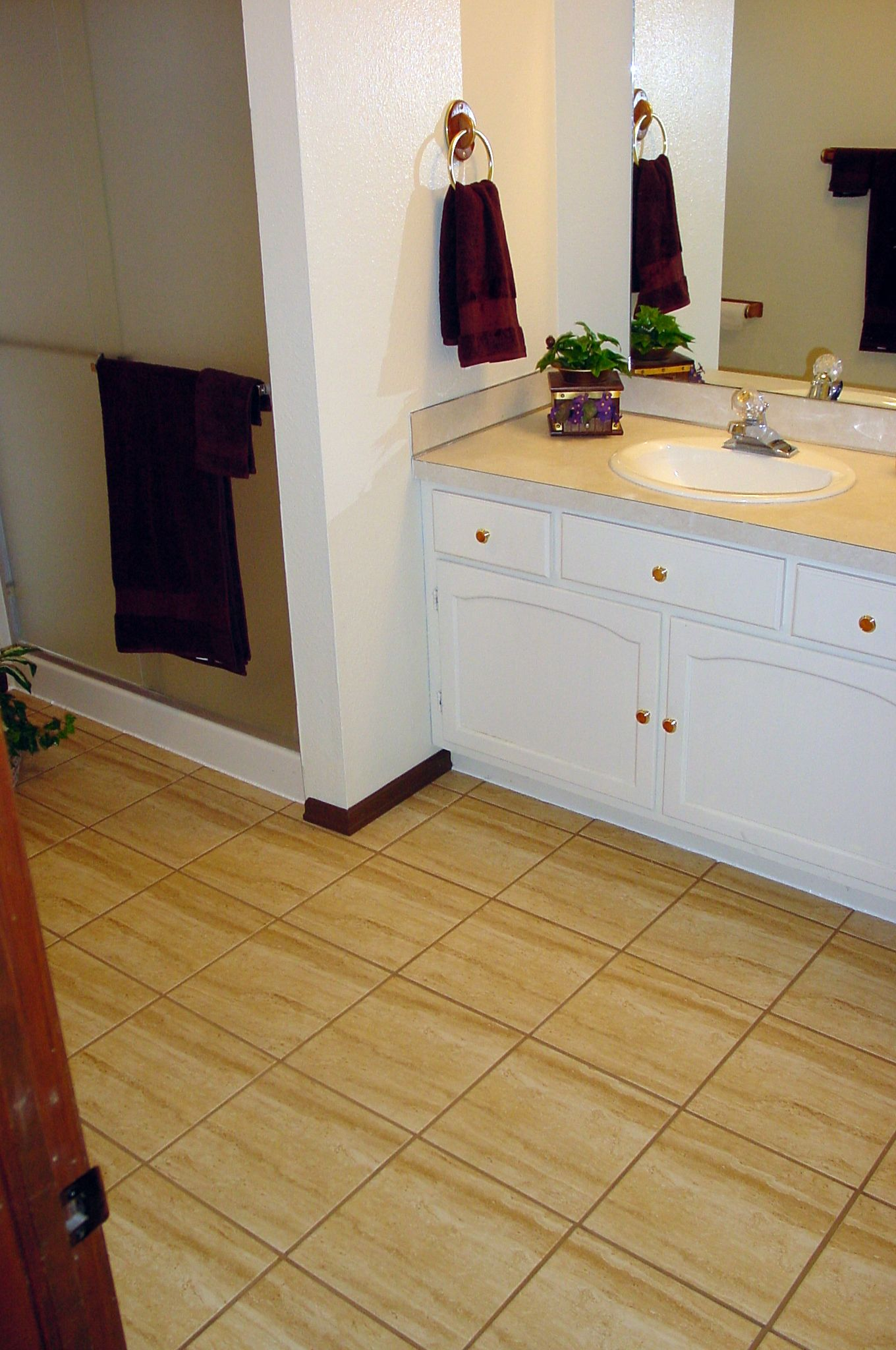 Floating Tile Floor Over Sand Bed Porcelain Ed Concrete Slab Would This Also Be Good On Second Plywood Backer Board