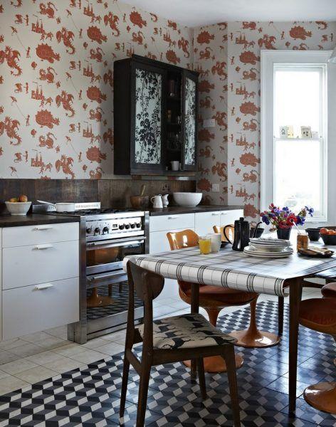 schöne küche wallpaper ideen für jeden einrichtungsstil