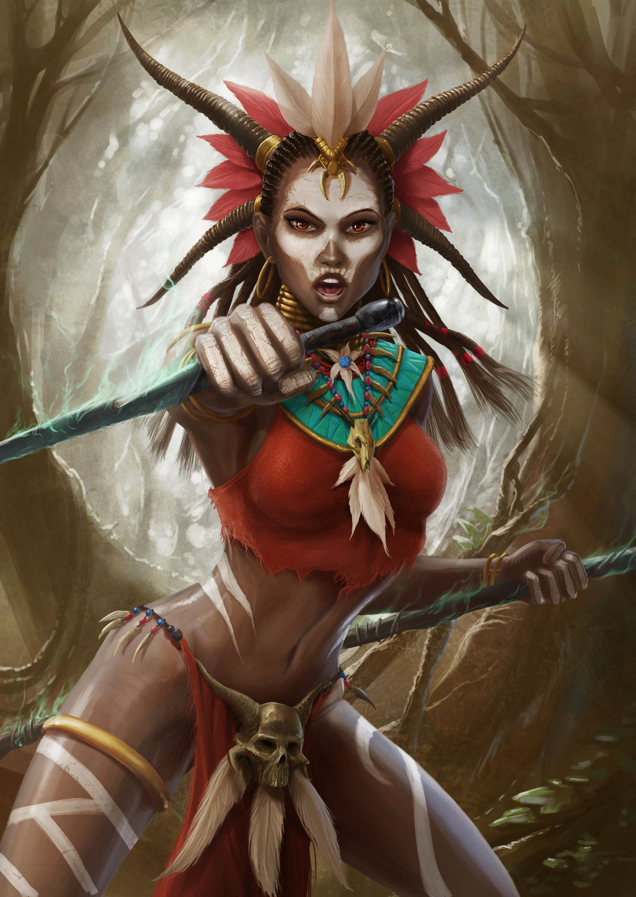 Witch Doctor Witch Doctor Witch Dark Fantasy