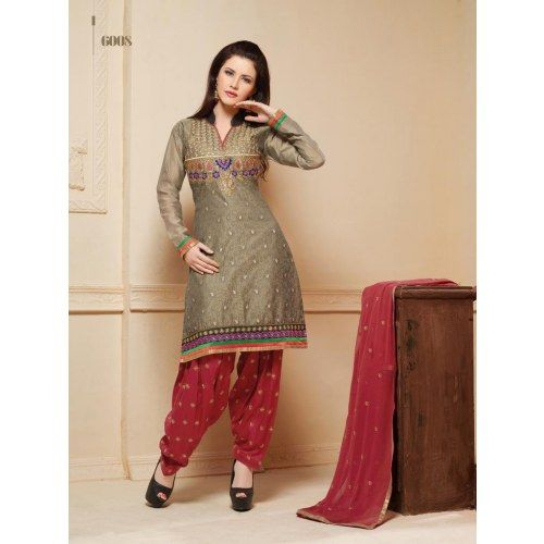 Online Shopping Wonderful designe work salwar suit with cool white ...