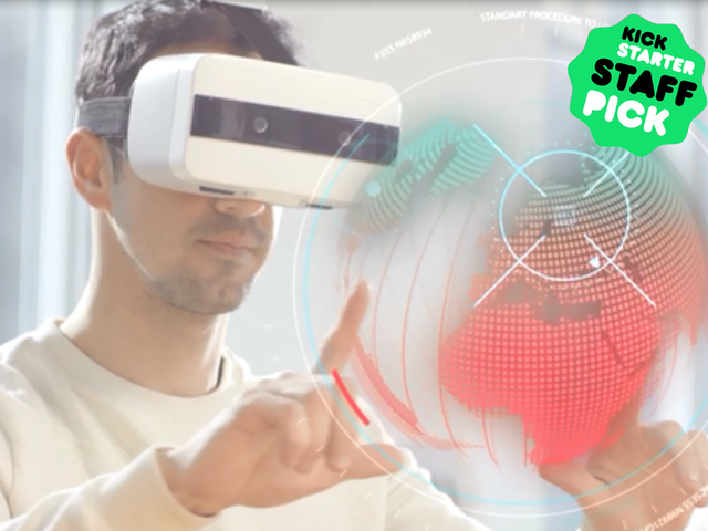 Impression P Mobile Vr Ar With Gesture Position Tracking