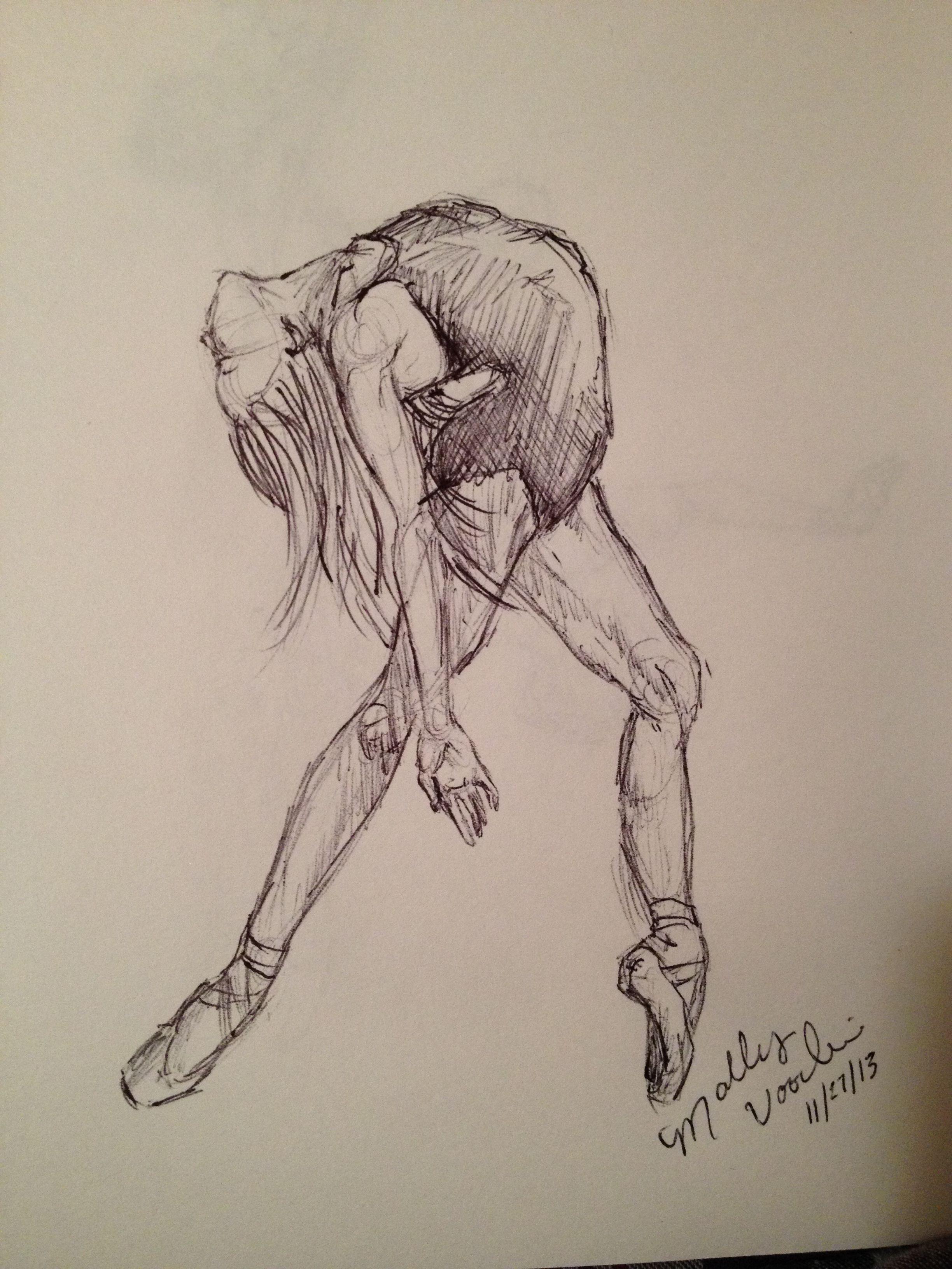 танцующий человек картинки карандашом подчёркивают тот