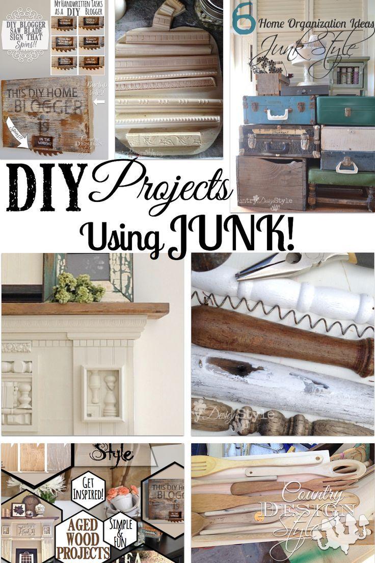 Junk | Organizing, Decorating and Repurposed
