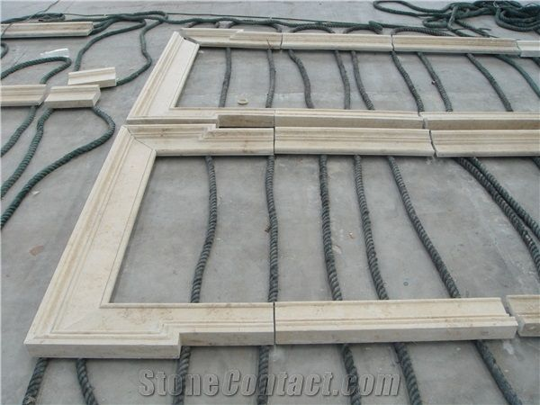 Jura Beige Limestone Window Surround