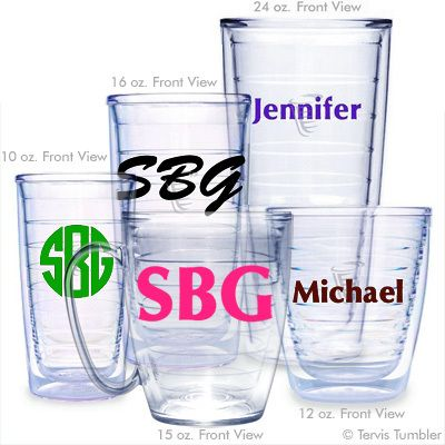 78aa8538af6 Design Your Own Personalized Tervis Tumblers | Gift ideas | Tervis ...