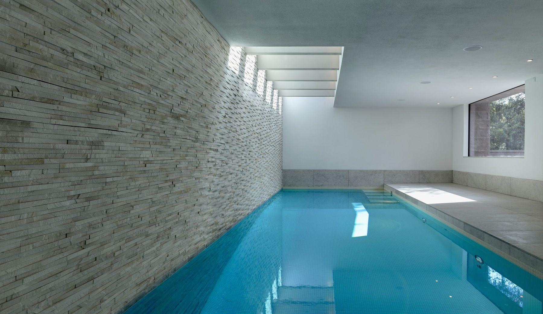 striking indoor pool by portrait pools schwimmbad planen indoor pools. Black Bedroom Furniture Sets. Home Design Ideas