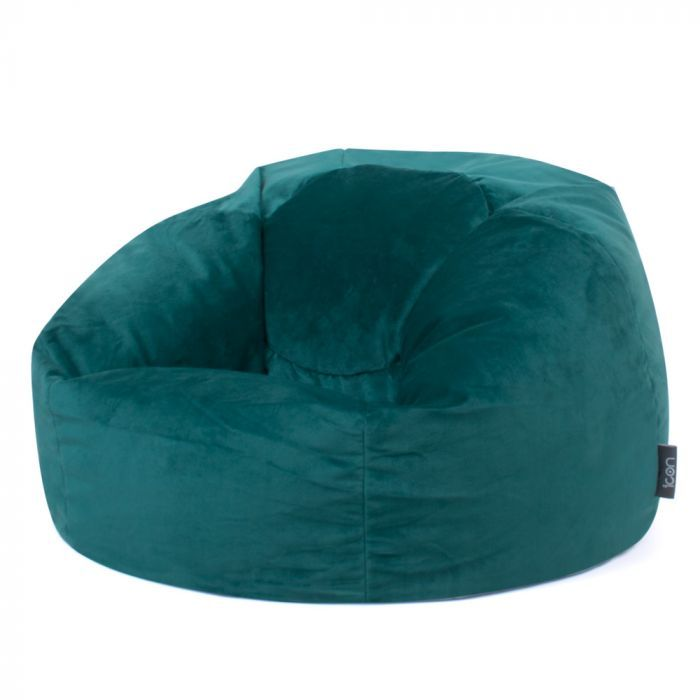 Cool Icon Milano Classic Velvet Bean Bag Crimbo Bean Bag Camellatalisay Diy Chair Ideas Camellatalisaycom