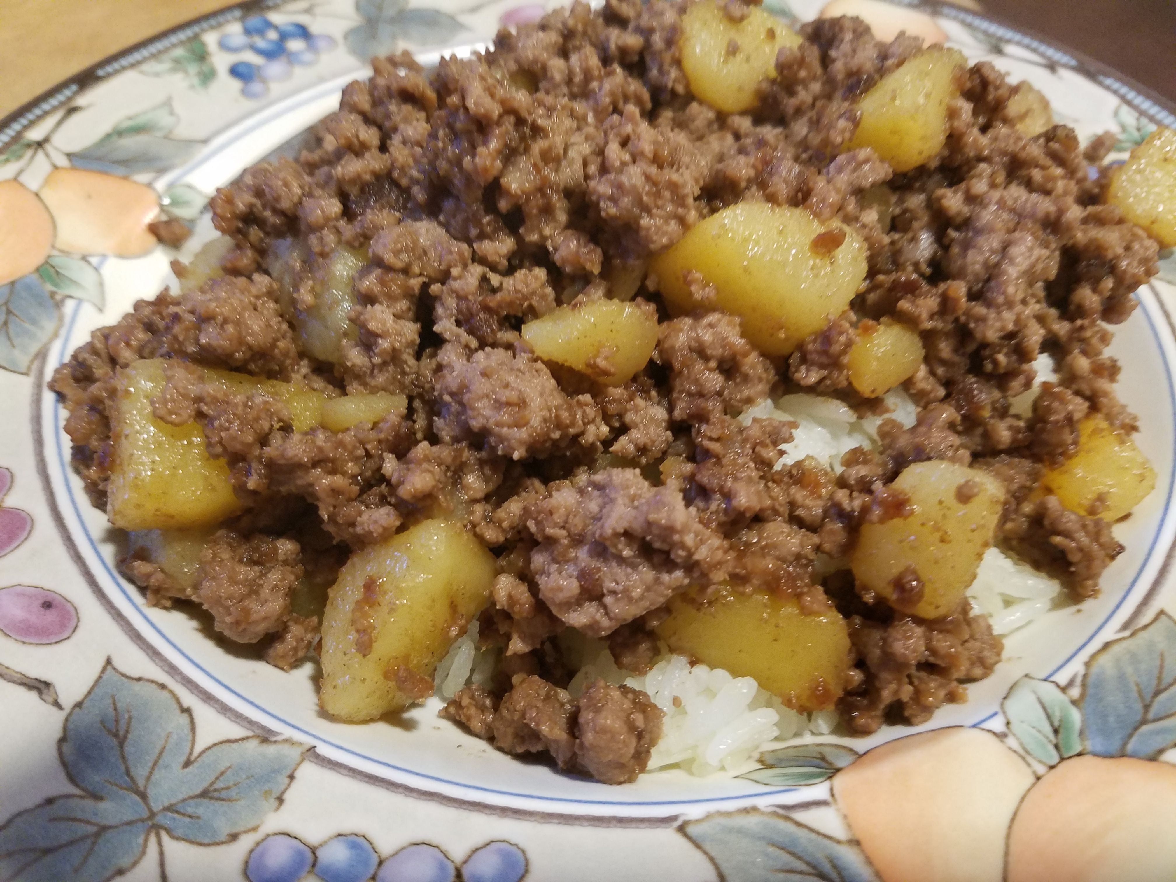 Ground Beef And Potatoes Oh So Simple Recipe In 2020