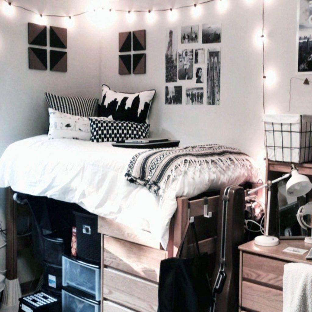Real Home Inspiration Small Bedroom Organization Ideas Pinterest That Look Beautiful Dorm Room Closet Dorm Room Organization Dorm Room Organization Closet