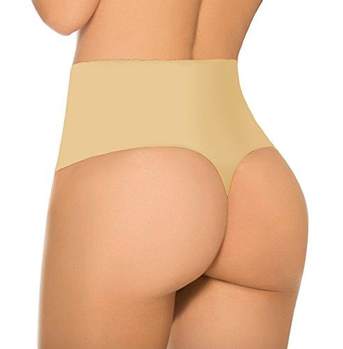 d28460c5012be SHAPERQUEEN 103 Women Waist Cincher Girdle Tummy Slimmer Sexy Thong Panty  Shapewear S Nude    Find out more about the great product at the image link.
