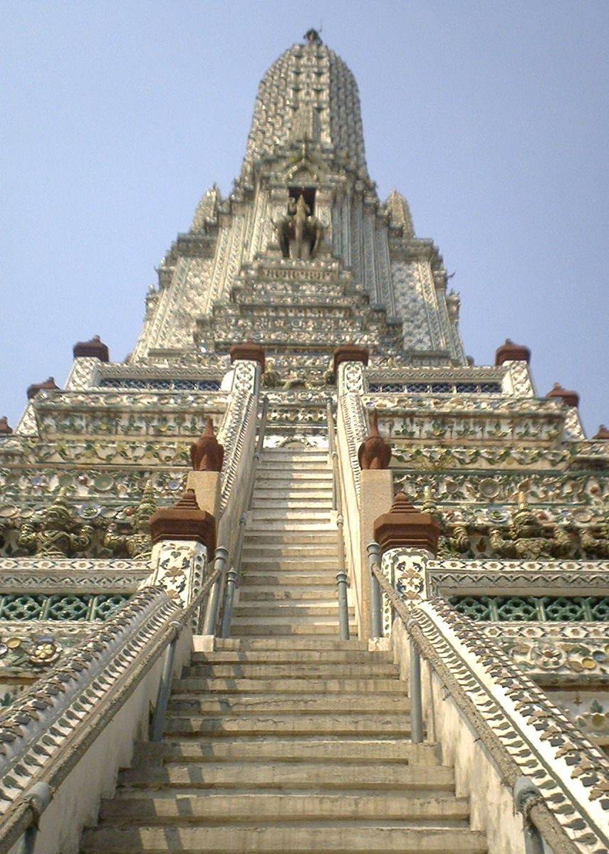 Wat Arun, Bangkok, Thailand. Can't wait to climb it!