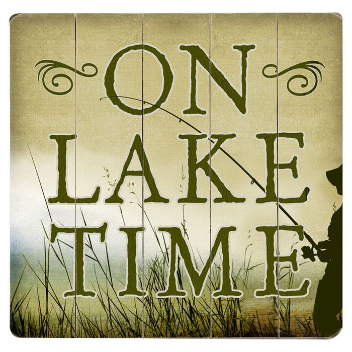 On Lake Time Wall Decor. | Interesting Things | Pinterest | Wall ...