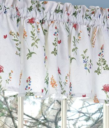 Close Up Shabby Chic Kitchen Curtains Country Curtains
