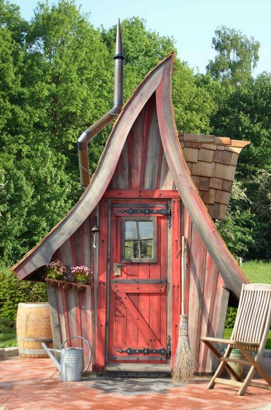 hexenhaus für garten fertigbausatz fürs eigene hexenhaus! superschön