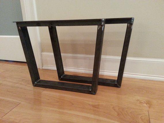 metal table legs steel table legs steel table legs iron table legs trapezoid 3x1. Black Bedroom Furniture Sets. Home Design Ideas