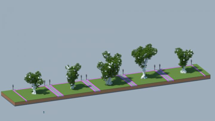 Pin By Assinaturas Sci Fi On Minecraft Building In 2021 Sakura Tree Tree Minecraft