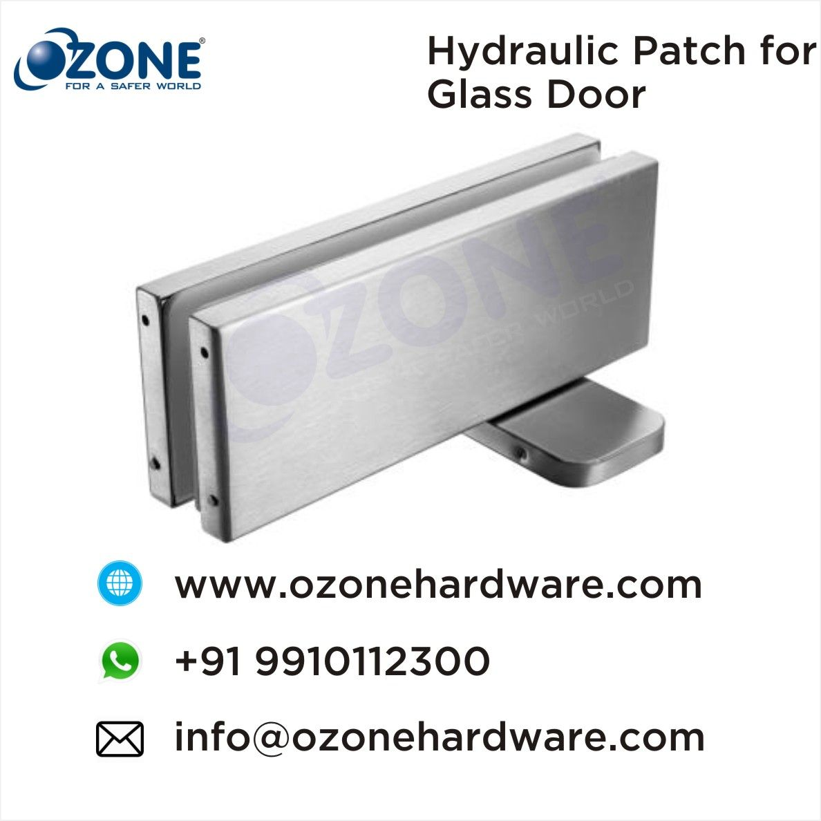 Hydraulic Patch For Glass Door Hydraulic Patch Floor Spring