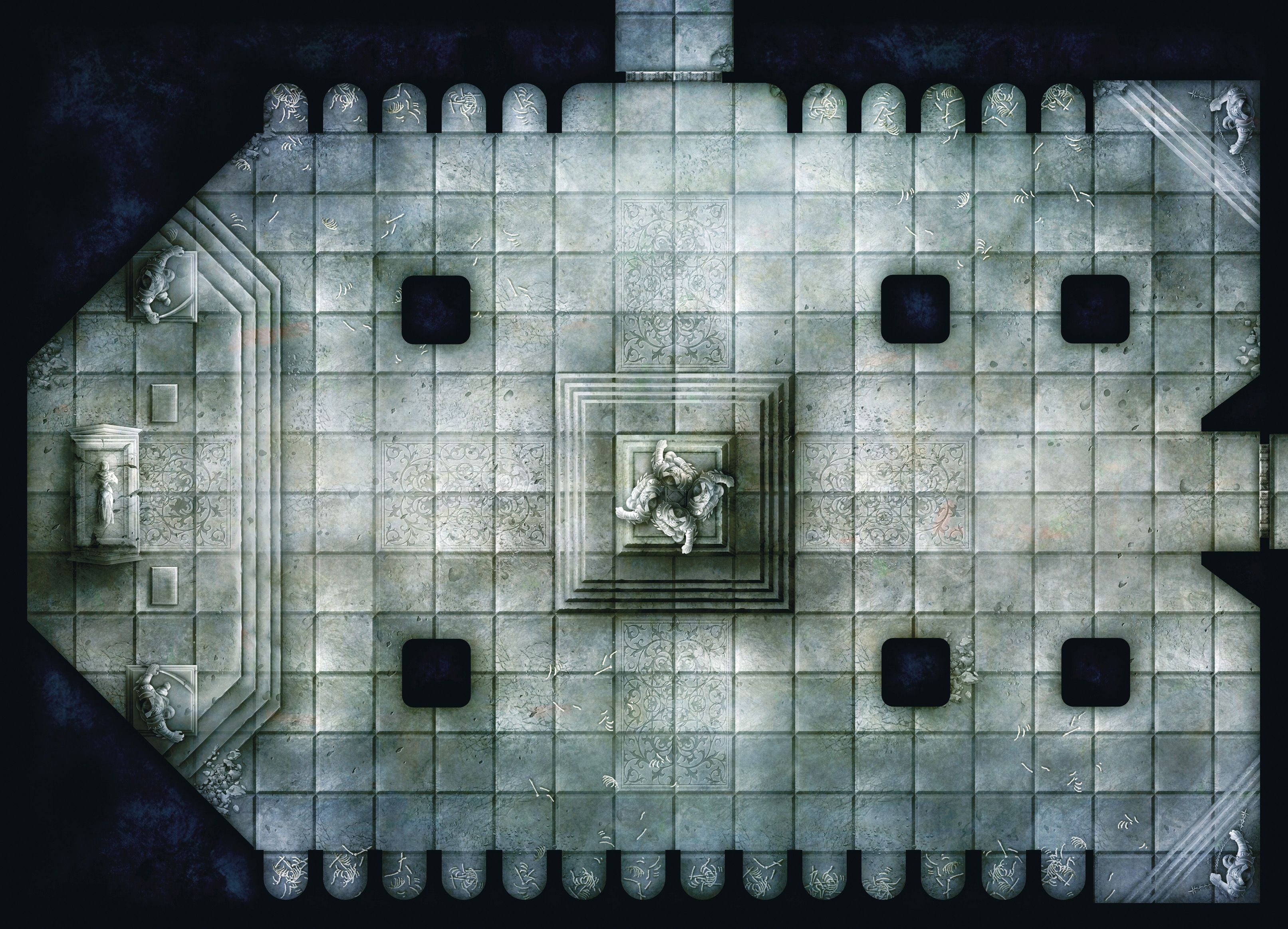 Image result for temple battlemap