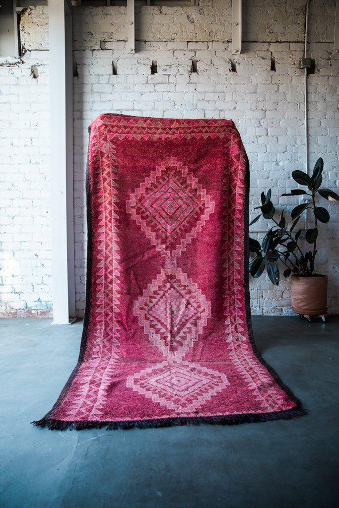 TENFOUR, GOOD BUDDY vintage ourika moroccan berber carpet