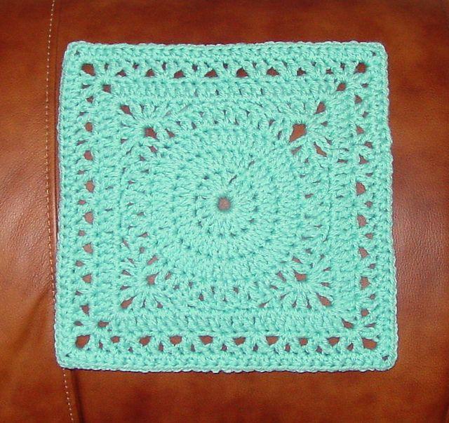 Topaz 9 Inch Square pattern by Susan Hinton   Muestras de crochet ...