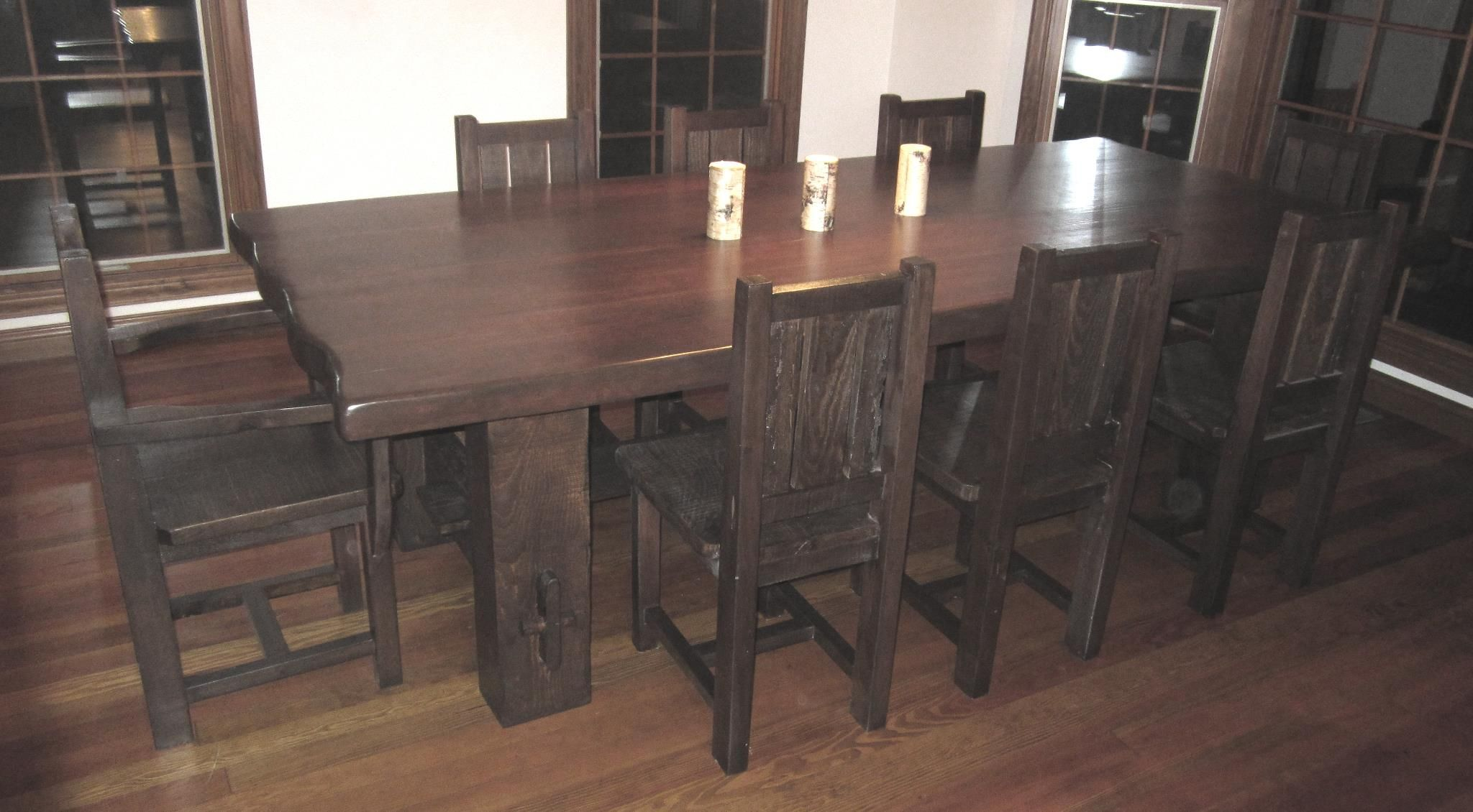 Barn Wood Harvest Table Custom Built To Fit Your Needs Barn Wood Fair Custom Built Dining Room Tables Review
