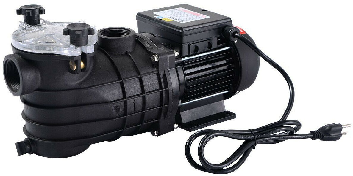 """Pro 2450GPH 13/"""" Sand Filter Above Ground Swimming SPA water Pool Pump 10000GAL"""