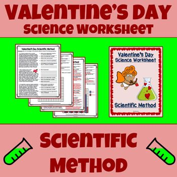Scientific Method Worksheet - Variables, Graphing, Valentine's Day ...