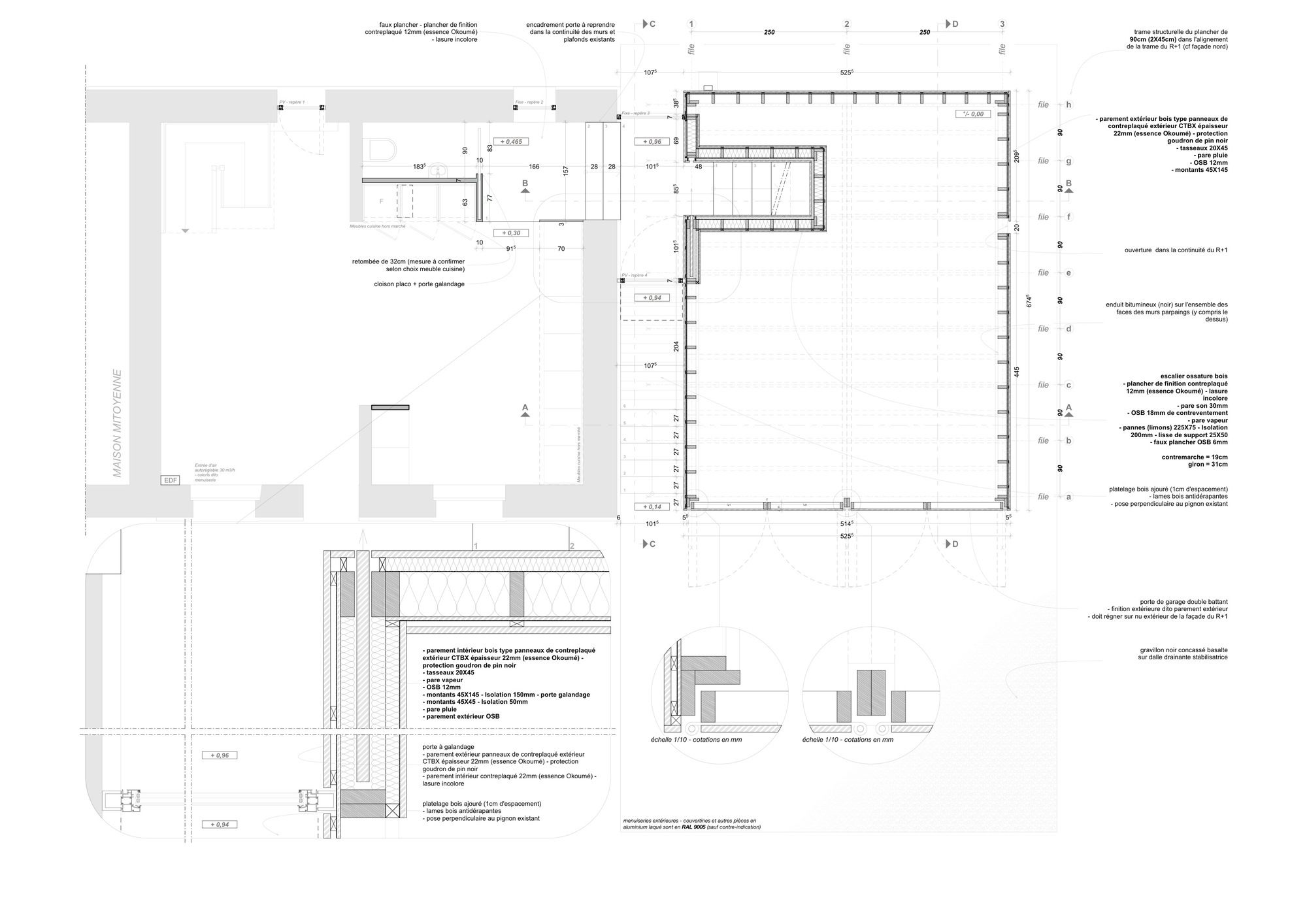 Detail Sections,Scheme Linear,Shape Organic,Form Curvelinear Box, Roof Eave,Metal Roof, - Detail - Pinterest - Organic Form,