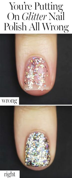 #putting #glitter #hackwe #genius #polish #youre #about #wrong #step #game #with #this #nail #will #...