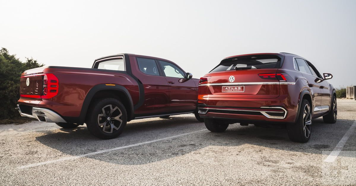 Volkswagen Atlas Cross Sport and Tanoak Concepts Drive
