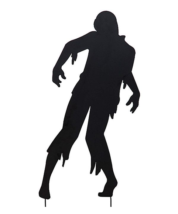 look at this living dead man silhouette garden stake on zulily today