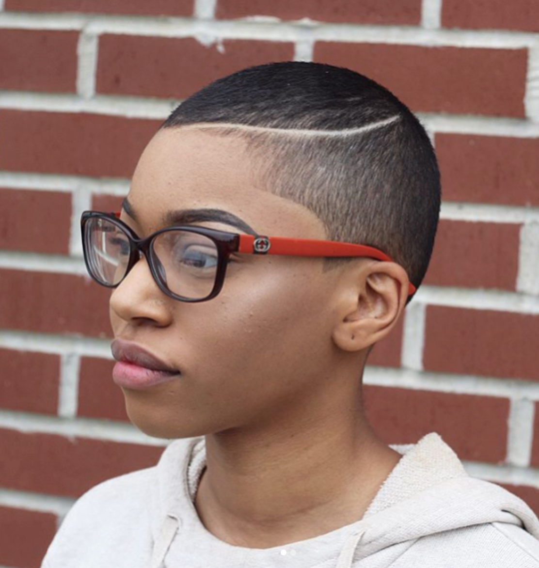 Low Cut Hairstyles For Black Females: Pin On TWA