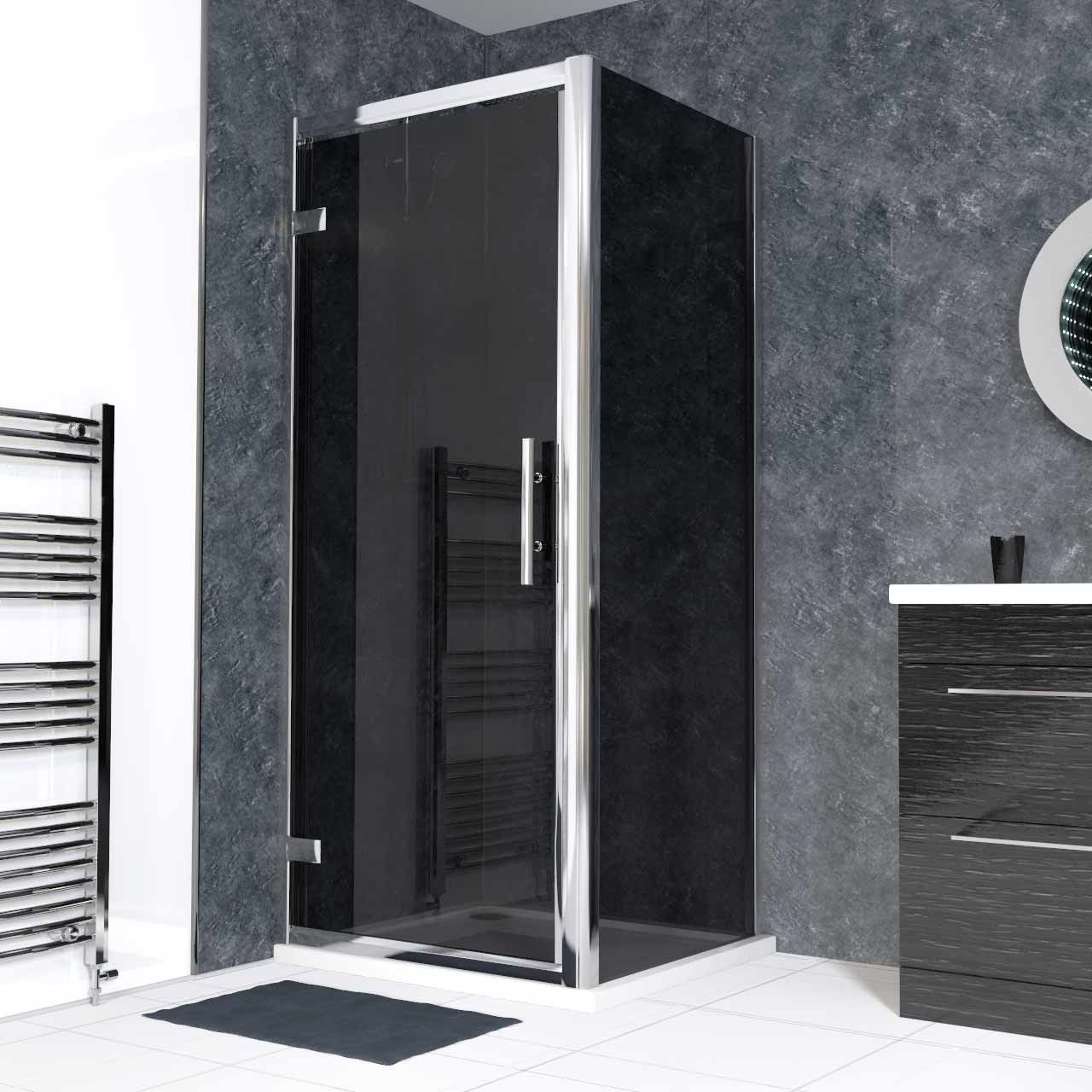 A Hinged Shower Enclosure Is A Simple Option With A Modern Design That Will Look Good In Any Bathroom The Shower Enclosure Bathroom Inspiration Modern Design