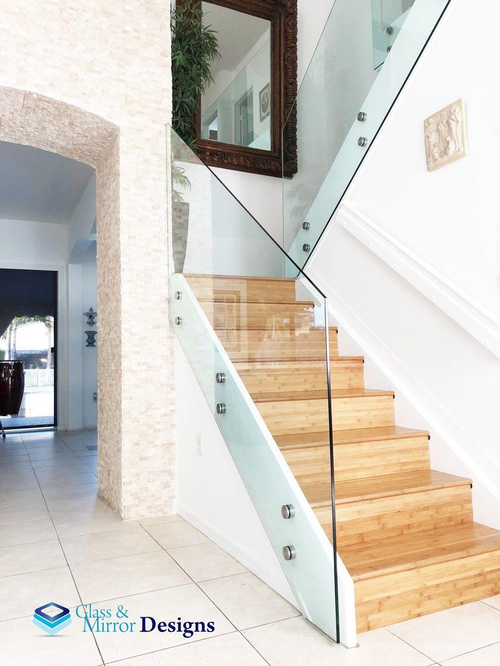 Glass Staircase | Staircase design, Glass staircase ...