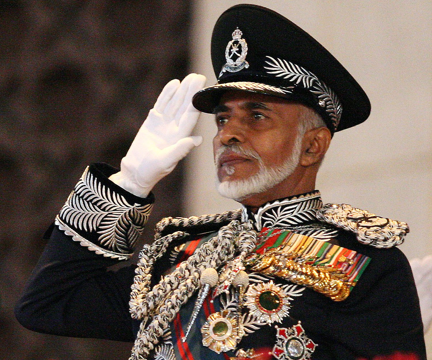 the sultan of oman may be way better on human rights than gaddafi