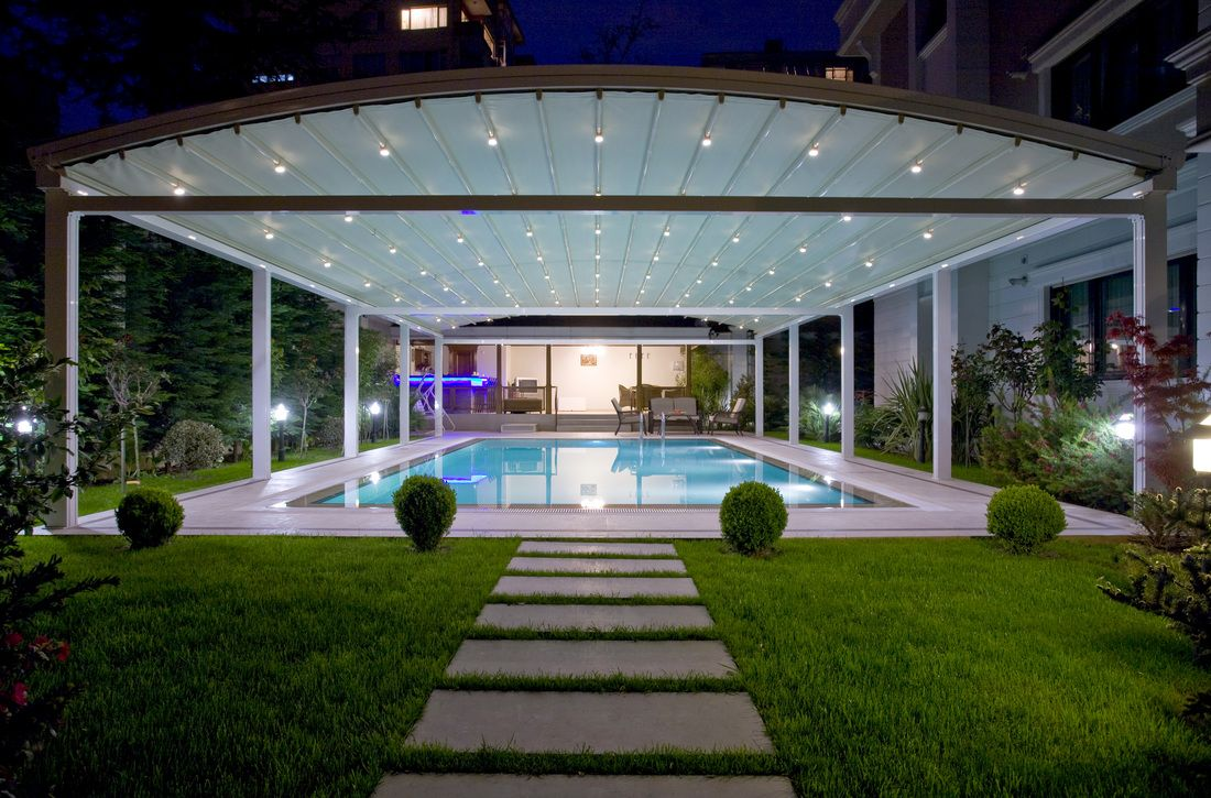 LUNA - SUNTECH | Pool shade, Pergola designs, Pergola pictures