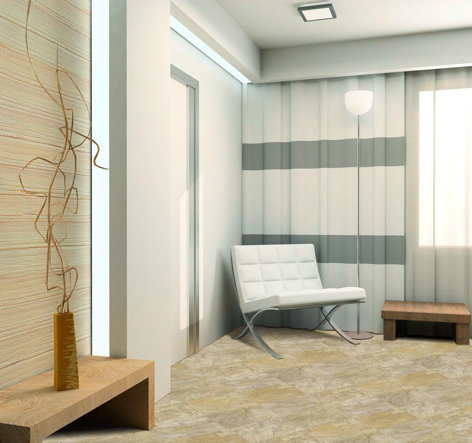 Flexitec wondertile shown in romano 931 ivc flexitec for Flexitec flooring