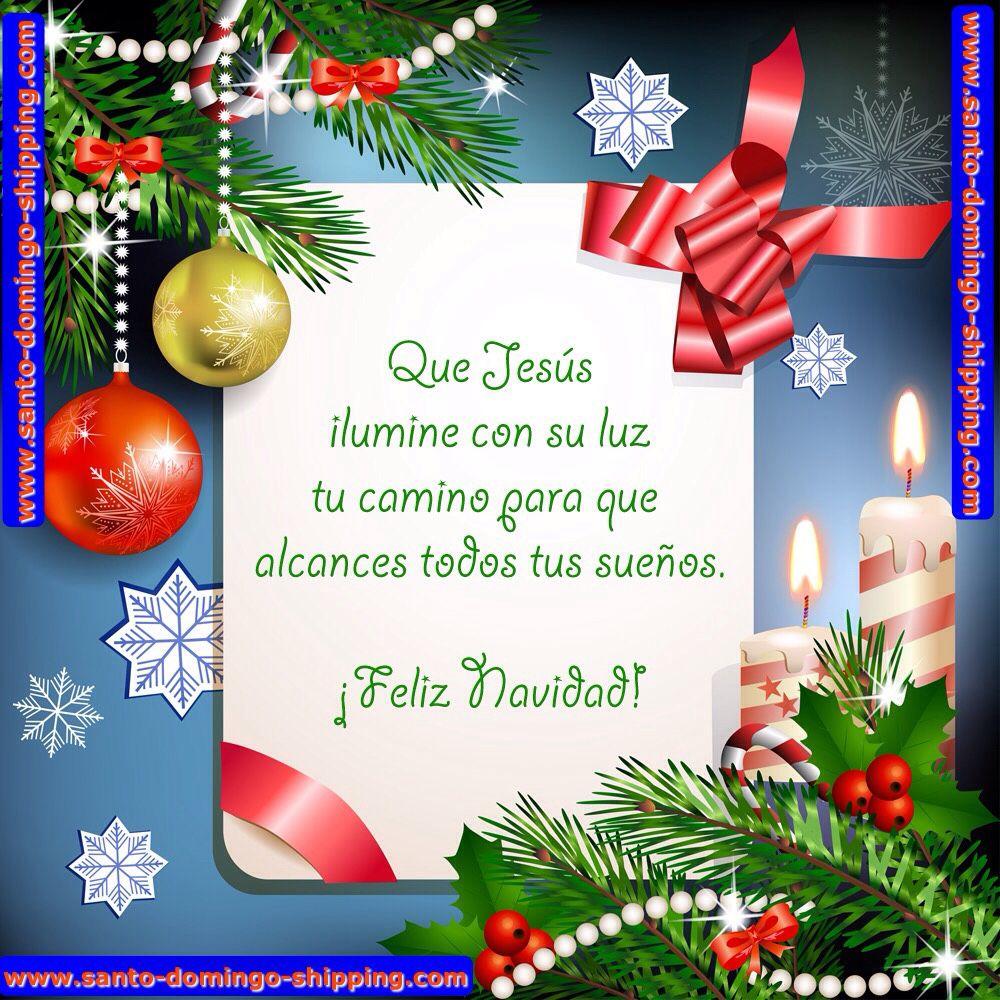 Feliz Navidad para toda mi familia y amigos Y q papito Dios nos bendiga para q la Paz Amor y Prosperidad Brille Siempre en nuestros Hogares